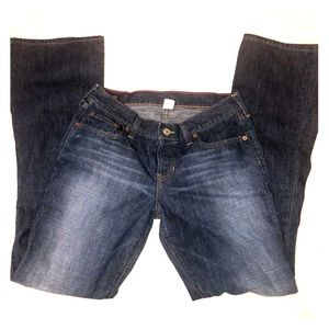 Abercrombie and Fitch boot cut jeans size 4L